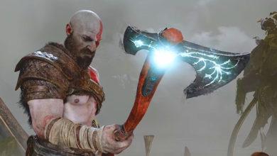 hacha de kratos