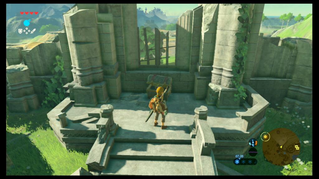 Templo del Tiempo Segundo edificio