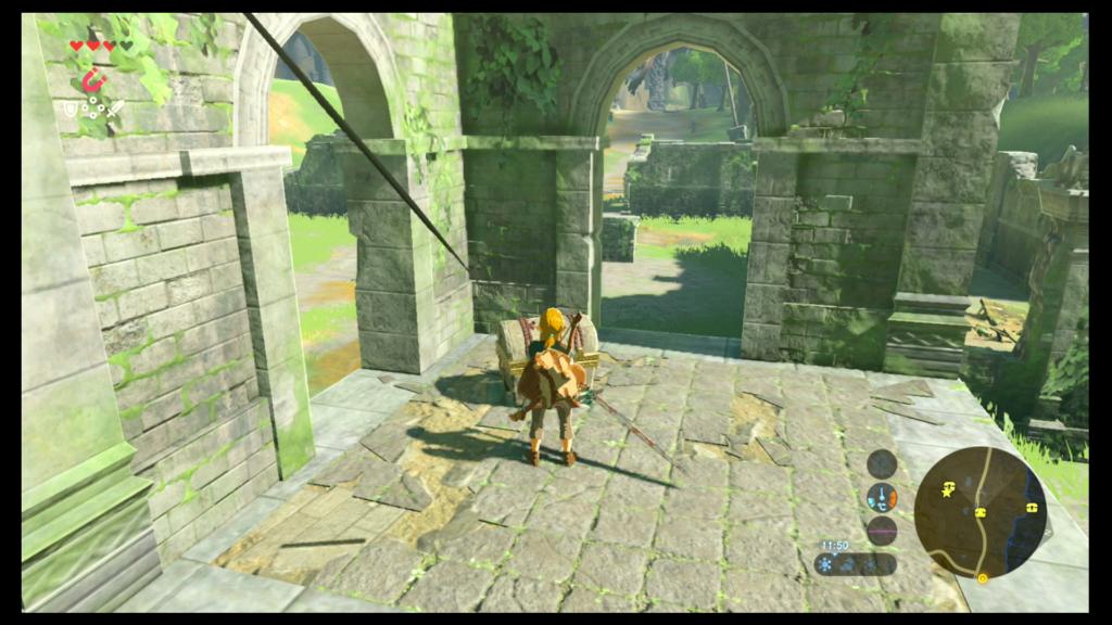Arco de viajero Caballeriza Hyrule