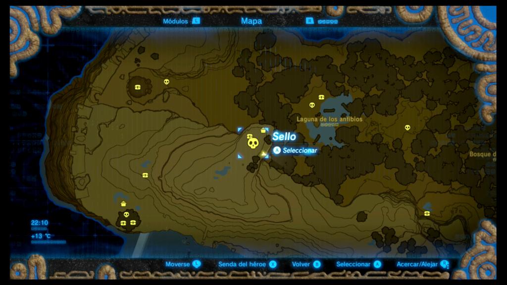 Asentamiento 1 sobre el Bosque de los Espiritus