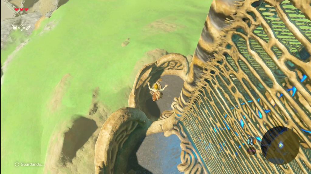 De plataforma en plataforma Torre Meseta de los Albores
