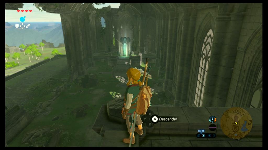 Meseta de los ALbores Templo del Tiempo
