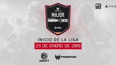 Predator Rainbow SixSiege Major Invierno 2018