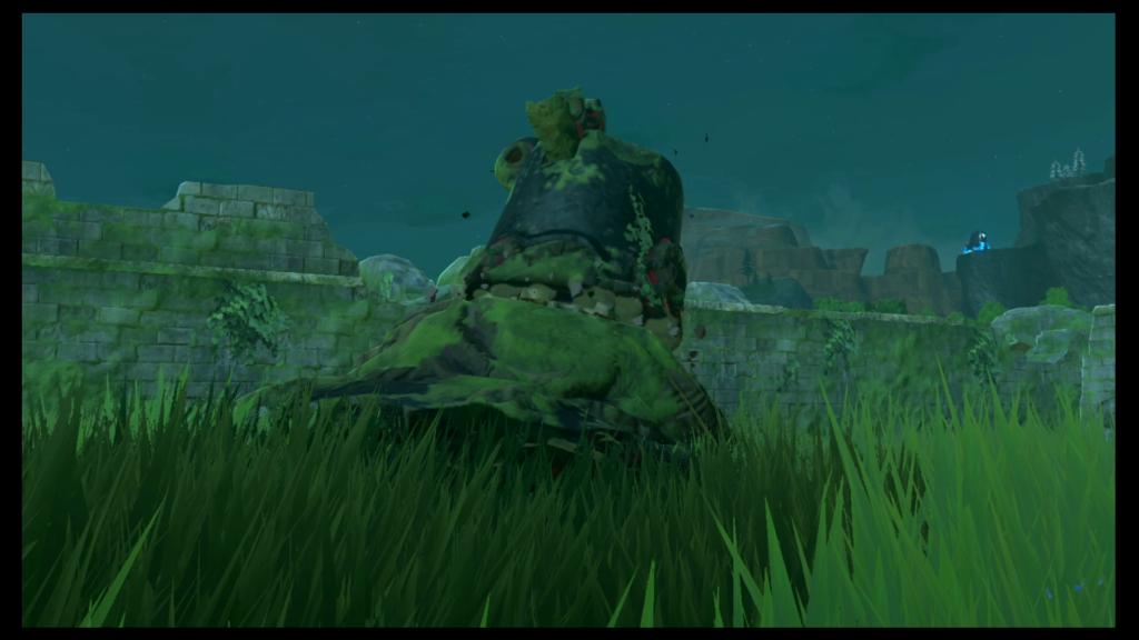 Santuario de Asiph guardianes oxidados
