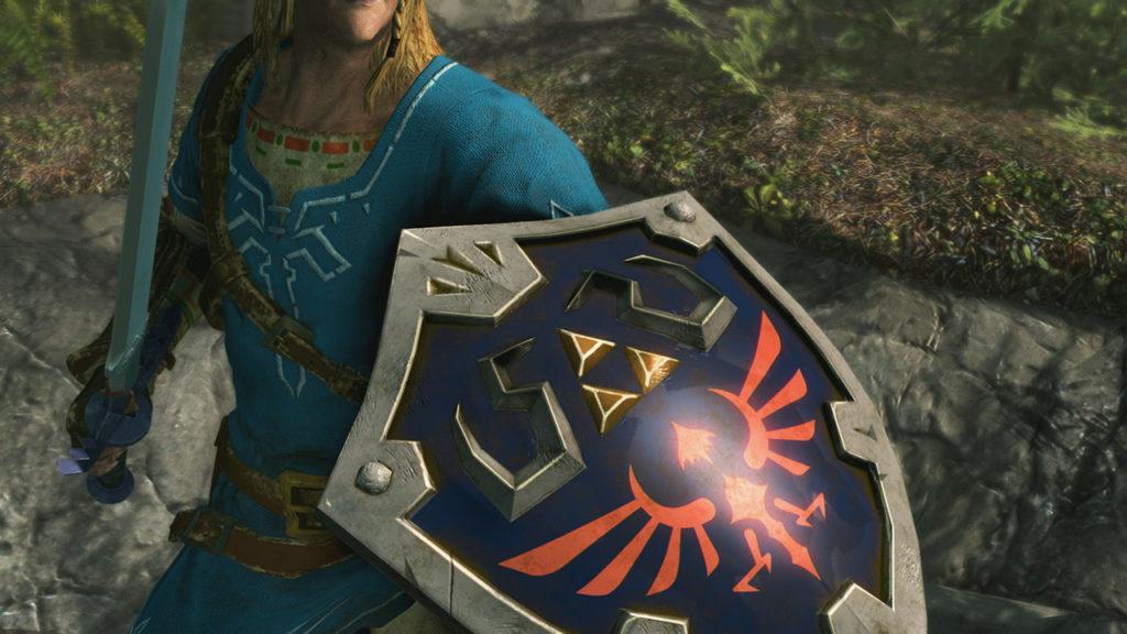 The Elder Scrolls V: Skyrim para Switch vestimenta Link Zelda