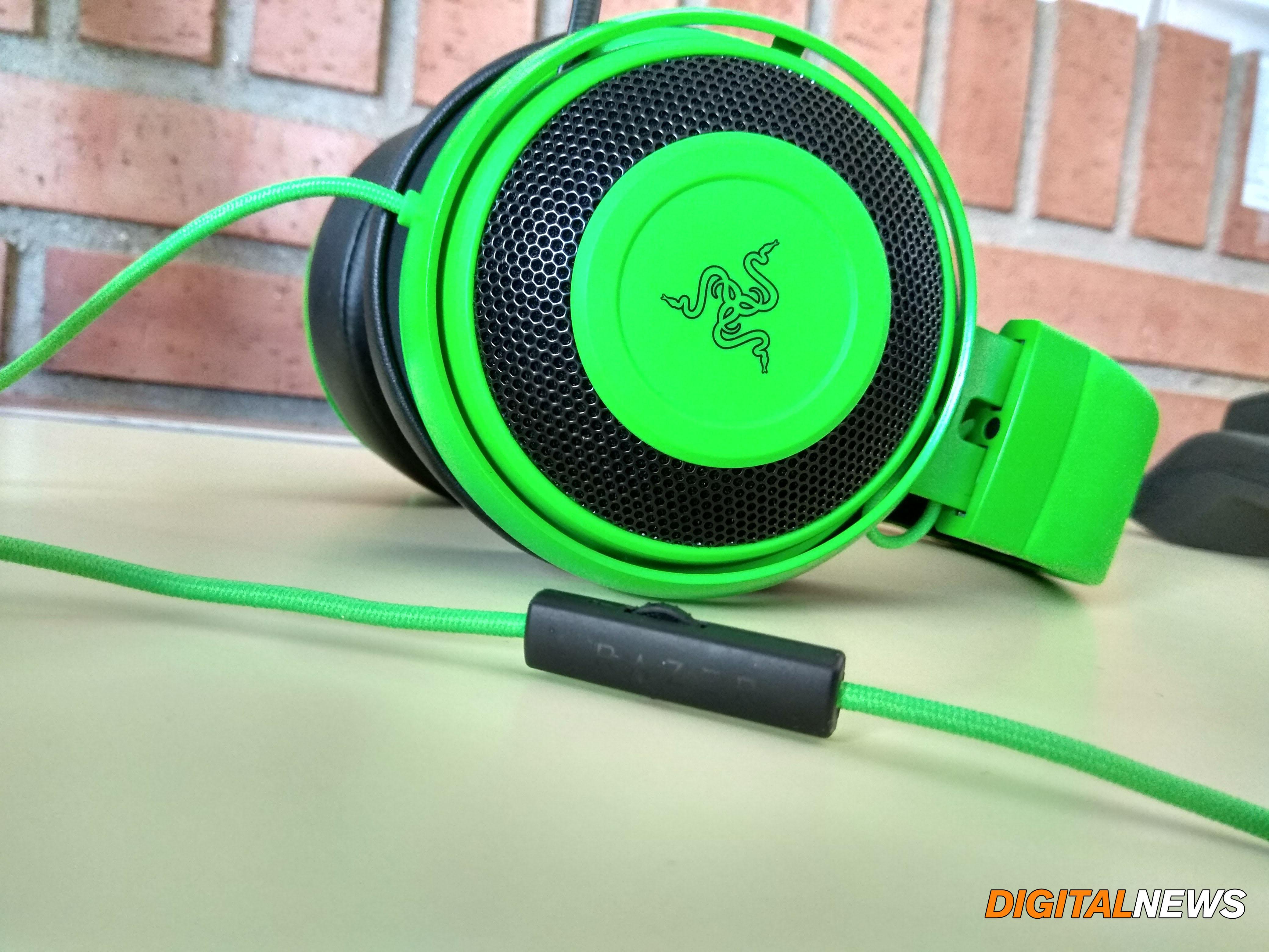 Razer Kraken Pro V2 Verdes Calidad De Sonido Y Dise 241 O