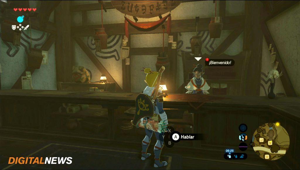 Misiones secundarias de Zelda Una petición fogosa