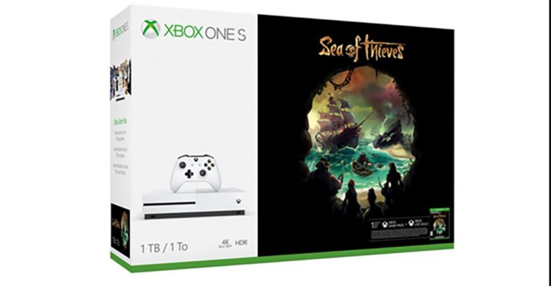 Xbox One S con Sea of Thieves