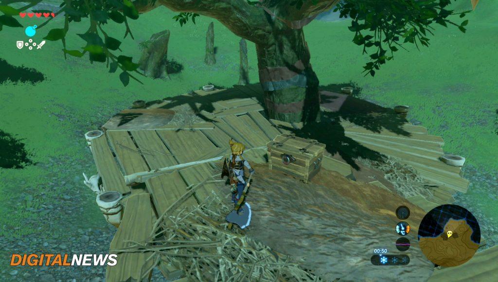 cofre 10 flechas de madera