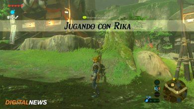 Jugando con Rika