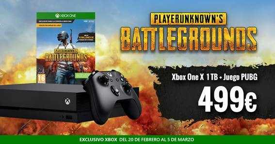 oferta Xbox One X