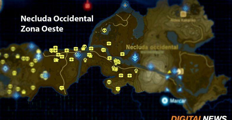 Todos los cofres de Necluda Occidental zona oeste