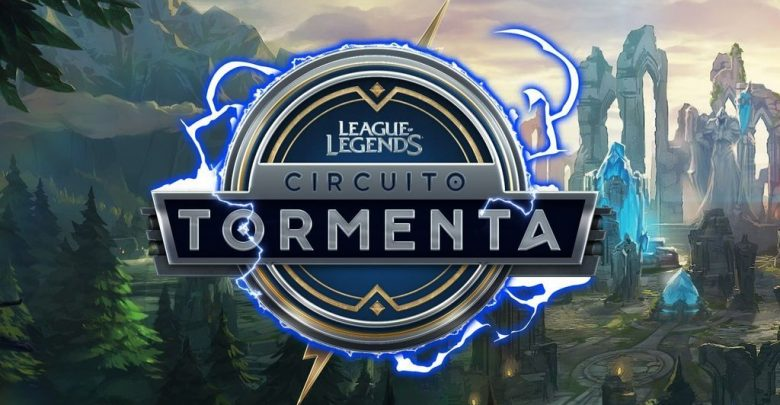 Logotipo circuito Tormenta League of Legends
