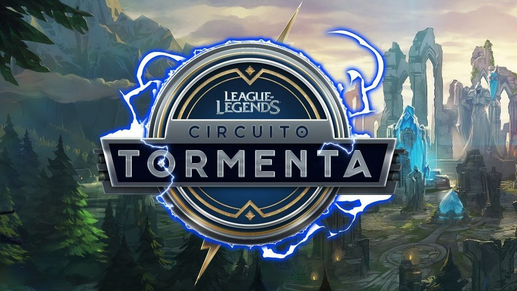 Logotipo circuito Tormenta League of Legends