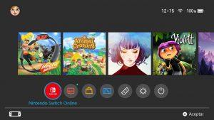 Nuevo icono Nintendo Switch Online