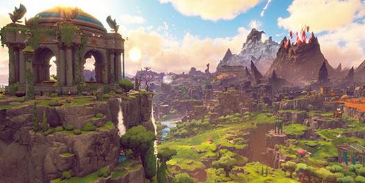 Inmortal Fenyx rising paisaje
