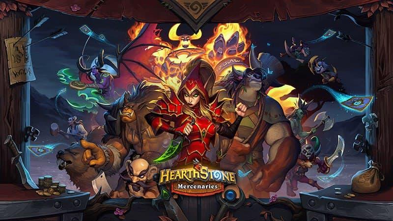mercenarios hearthstone